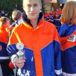Jugendfeuerwehr erhält Pokal 1